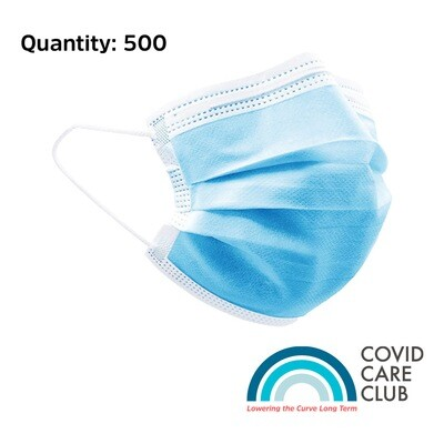 Disposable Face Mask x 500