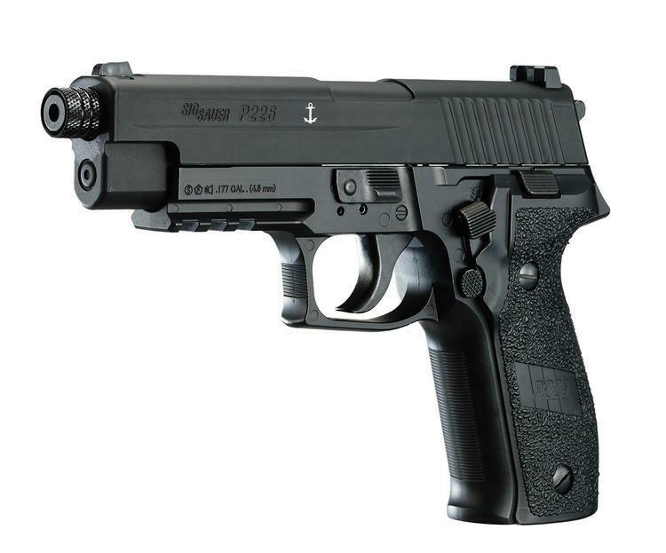 SIG SAUER P226 BLACK AIR PISTOL PELLETS EXTRA