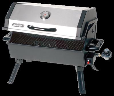 BISMAR BBQ PORTATIF AU GAZ 14000 BTU