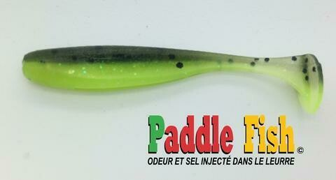 PADDLE FISH MINI LEURRE 2.5po VERT CHARTREUSE