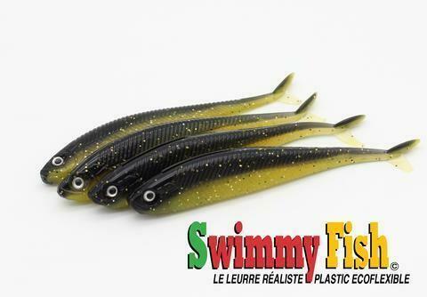 SWIMMY FISH 3 1/2 LEURRE BABY WALLEYE