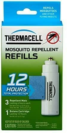 THERMACELL INSECTIFUGE RECHARGE (12HRES)