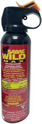 SABRE WILD MAX  POIVRE CAYENNE 1% CAPSAICIN (225GR)
