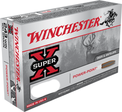 WINCHESTER 30-06 SPRG 150GR. POWER-POINT