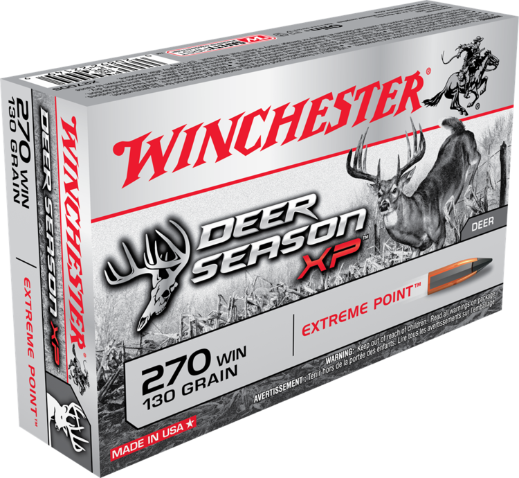 WINCHESTER DEER SEASON XP CAL.270 130G