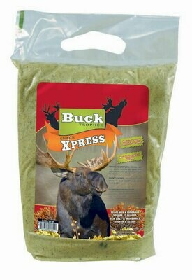 BUCK EXPERT PRODUITS D'APPÂTAGE ORIGNAL SNACK XPRESS / SELS DE MER & MINÉRAUX 1,8KG 4LB