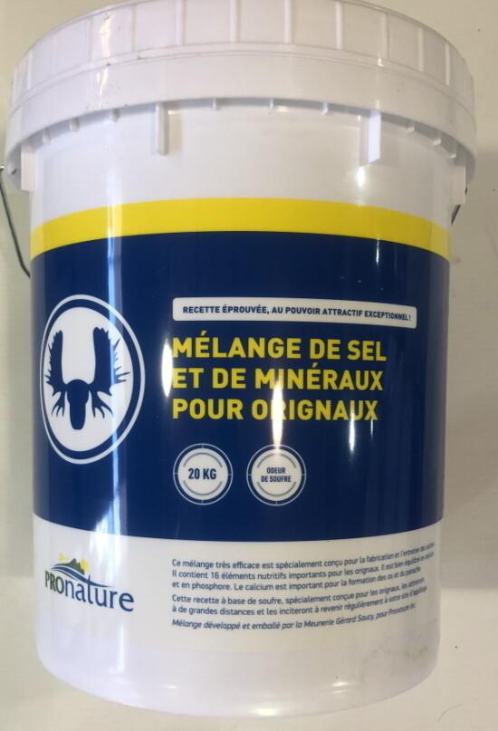MEUNERIE SOUCY CHAUDIÈRE  SEL & MINÉRAUX ORIGNAL (20KG)