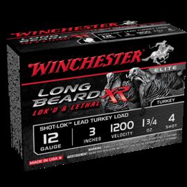 WINCHESTER MUNITION LONG BEARD XR CAL:12, 1 3/4OZ, #4, 3'', 10/BTE