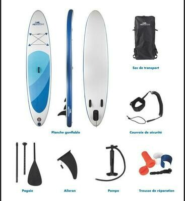 PRONATURE PLANCHE A PAGAIE GONFLABLE 11' (PADDLE BOARD)