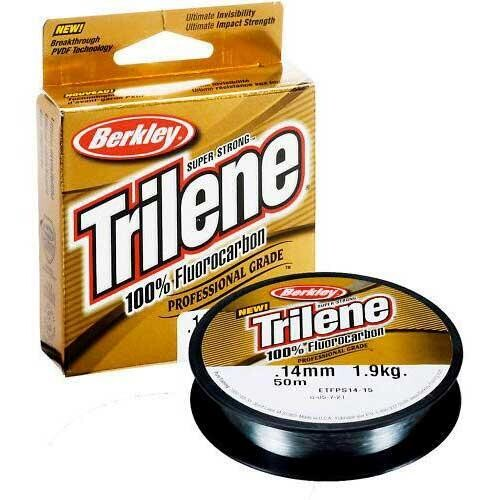 BERKLEY TRILENE FLUOROCARBON 12LB/110YD CLEAR/CLAIR