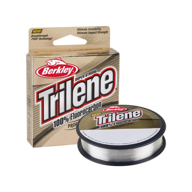 BERKLEY TRILENE FLUOROCARBON 8LB/110YD CLAIR/CLEAR
