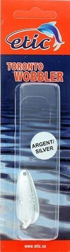 ETIC TORONTO WOBBLER 2'' ARGENT