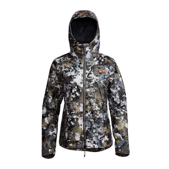 SITKA DOWNPOUR MANTEAU OPTIFADE ELEVATED II FEMME (XL)