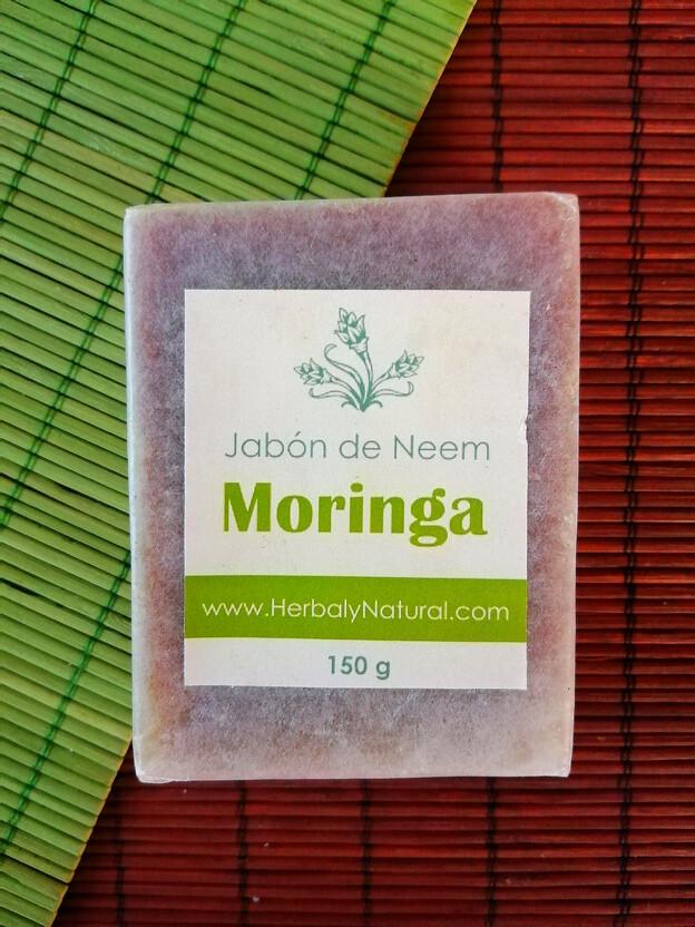 Jabón de Moringa