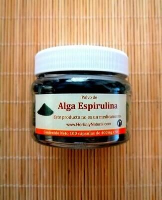 Alga Espirulina Cápsulas