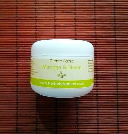 Crema Facial de Moringa y Neem