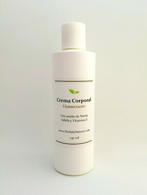 Crema Corporal Humectante