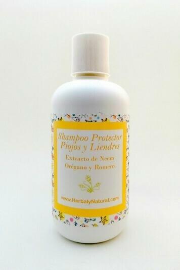 Shampoo Protector de Piojos y Liendres