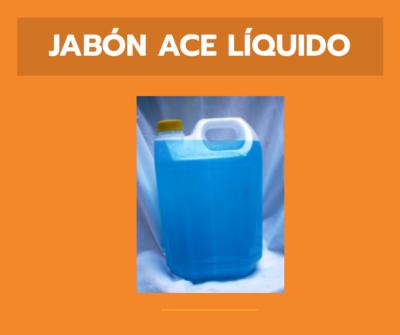 Jabón ACE Liquido