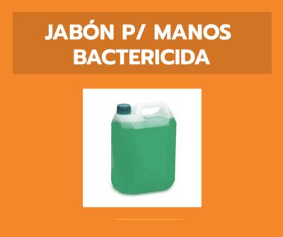 Jabón para manos - Bactericida