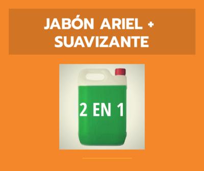 Jabón Ariel + Suavizante - 2 en 1
