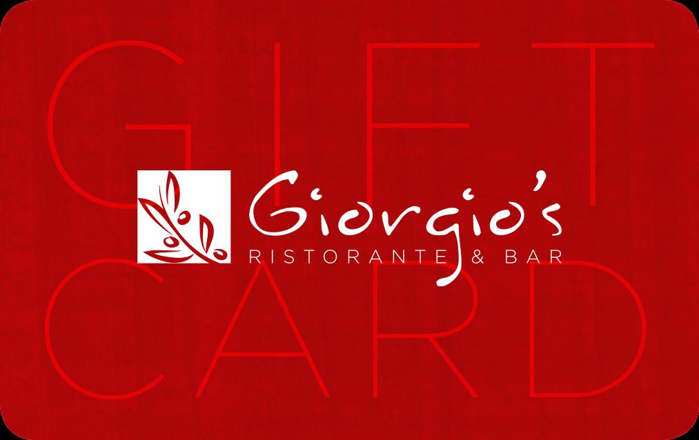Giorgio's Gift Card
