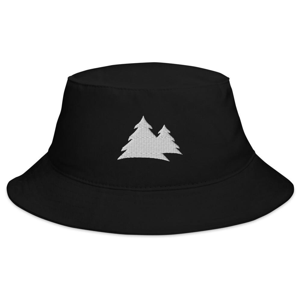 Grey Logo Bucket Hat