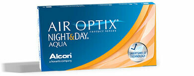 AIR OPTIX® NIGHT & DAY® AQUA - 6 Pack