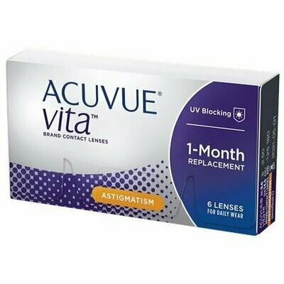 ACUVUE® VITA™ for Astigmatism with HydraMax™ (6-Pack)