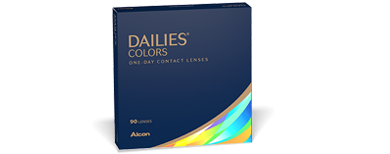 DAILIES® COLORS - 90 Pack