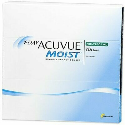 1-DAY ACUVUE® MOIST Brand MULTIFOCAL 90Pack