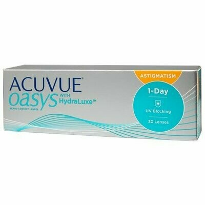 ACUVUE OASYS® 1-Day for Astigmatism 30 Pack