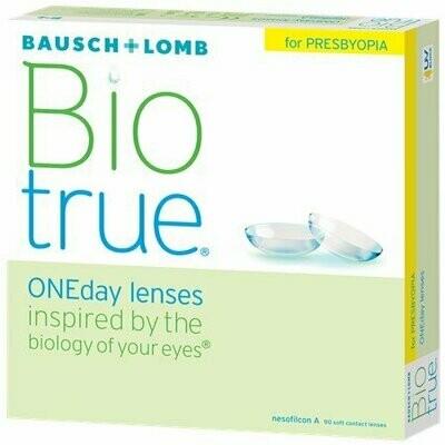 Biotrue® ONEday for Presbyopia (90-pack)