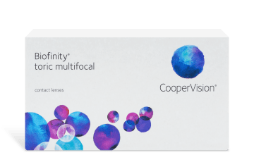 Biofinity® Toric Multifocal 6 pack