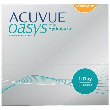 ACUVUE OASYS® 1-Day for Astigmatism 90 Pack