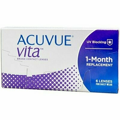 ACUVUE® VITA™ with HydraMax™ Technology 6 Pack
