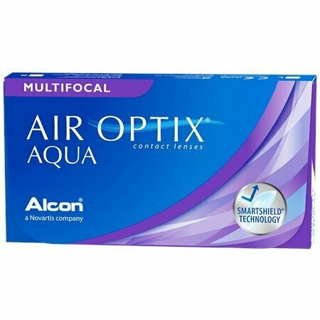 AIR OPTIX® Multifocal plus HydraGlyde® - 6 Pack