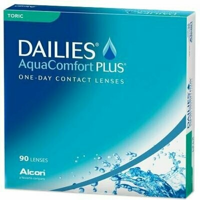 DAILIES® AquaComfort Plus® Toric - 90 Pack
