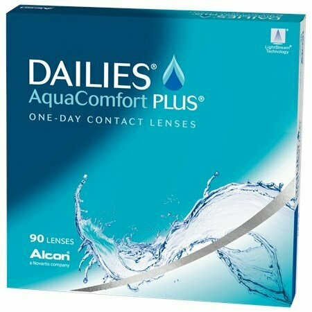 DAILIES® AquaComfort Plus® - 90 Pack