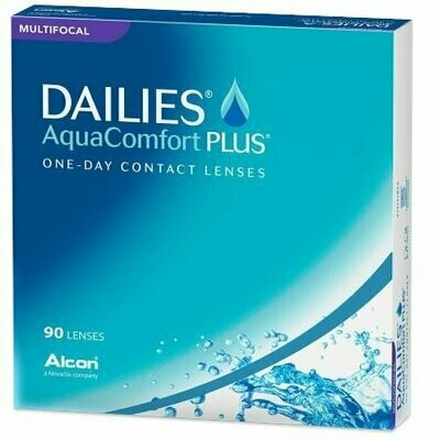 DAILIES® AquaComfort Plus® Multifocal - 90 Pack