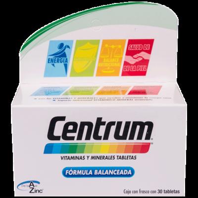 CENTRUM C/LUTEINA 30 TAB