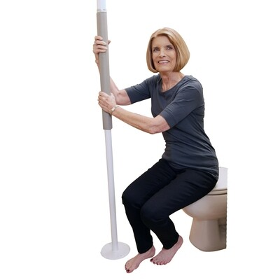 Security Pole-White