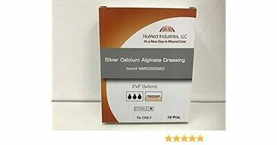 NuMed Silver Alginate Dressing, 4