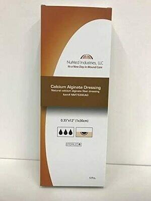 NuMed Calcium Alginate Dressing, 2x2 10BX, 60BX/CS