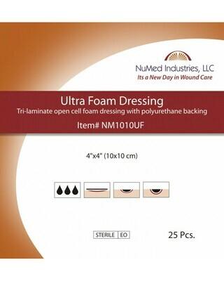 NuMed Ultra Foam Dressing 4