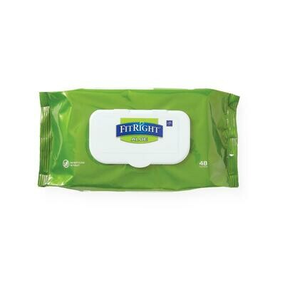 FitRight Personal Cleansing Wipes  576 Each / 12 Pack / Case