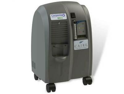 CAIRE Companion 5 ECO Oxygen Concentrator - 5 LPM