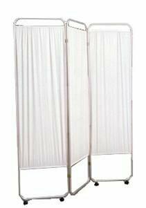 Privacy Screen Folding 3-Panel Aluminum / Vinyl  SZ 3-19