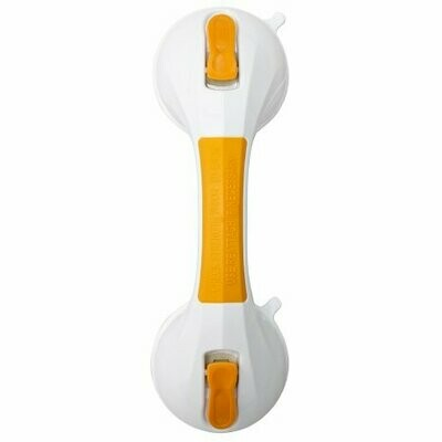 Suction-Cup Grab Bar McKesson White / Yellow Plastic BAR, GRAB SUCTION CUP 12