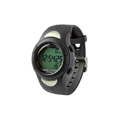 Digital Heart Rate and Pedometer Watch, New Version